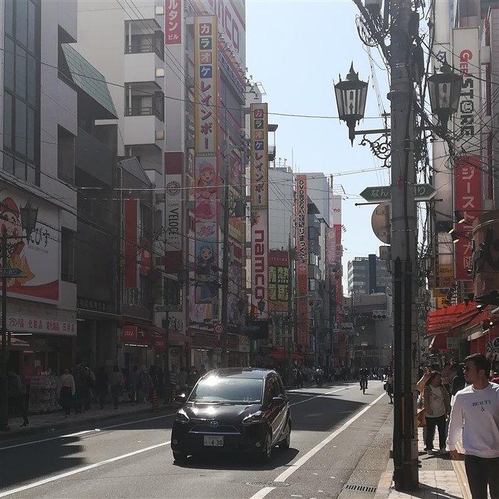 Le quartier electronique d'Osaka