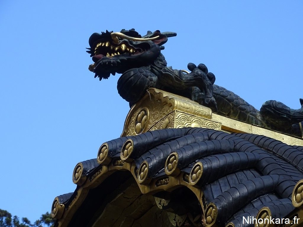 Un dragon à Nikko