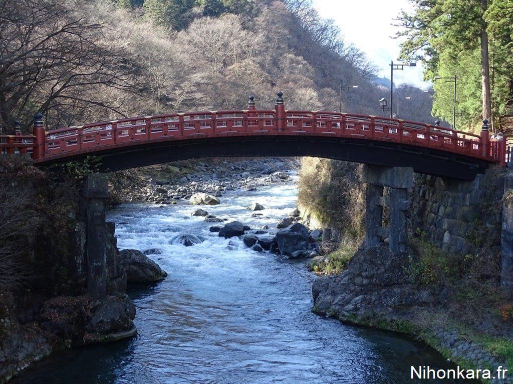 Le pont rouge de Nikko