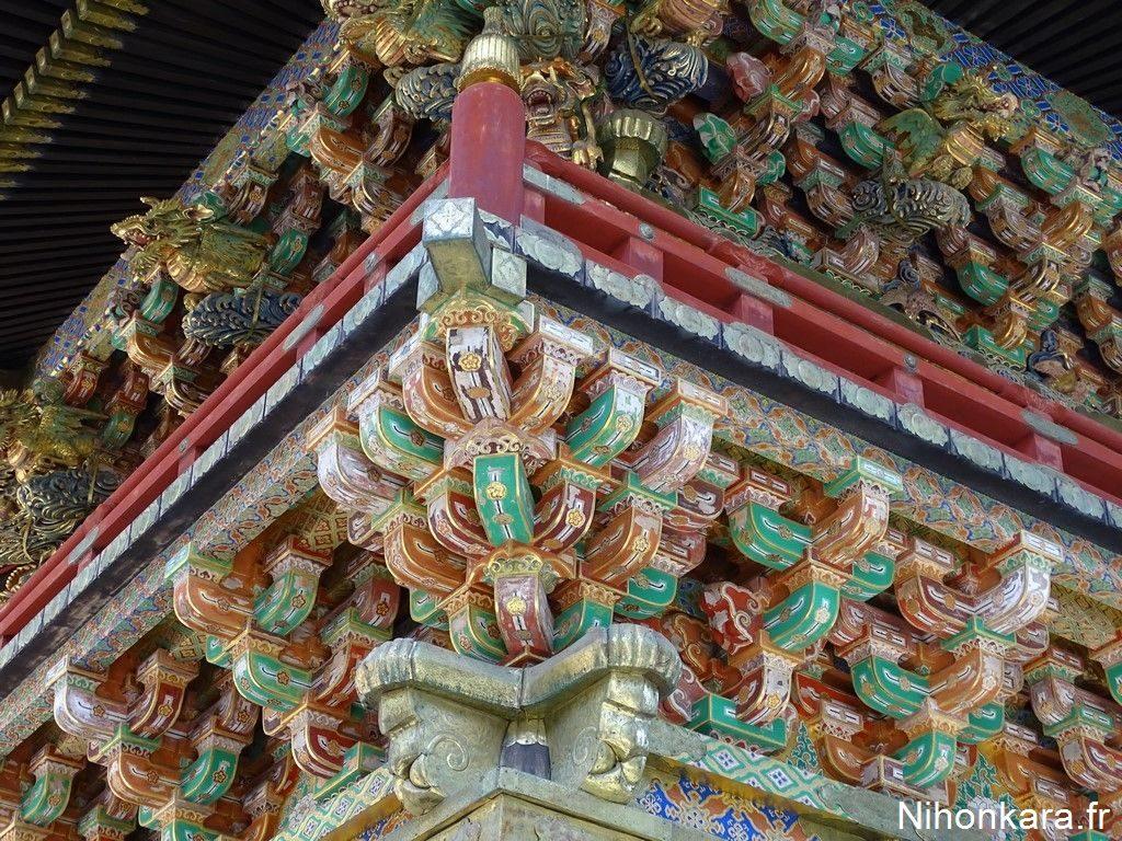 Les sculptures du Toshogu