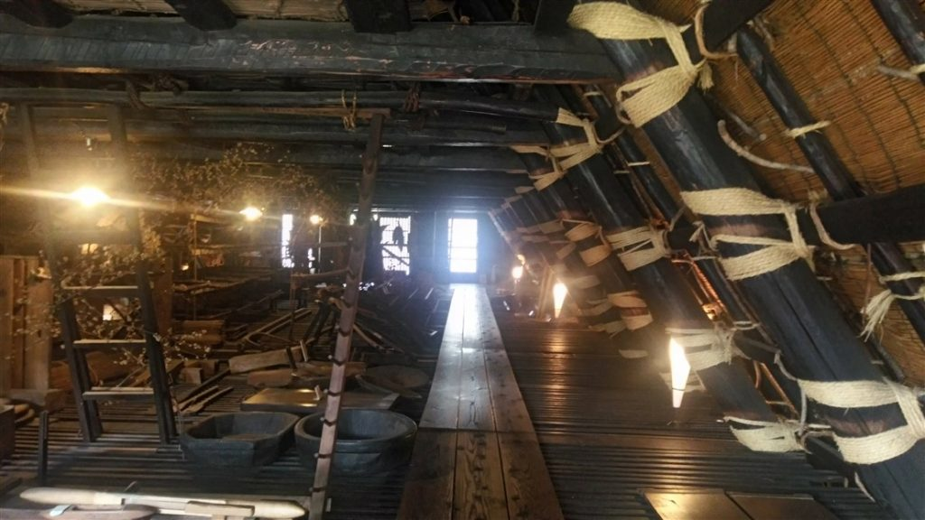 Les toits de la maison Kanda