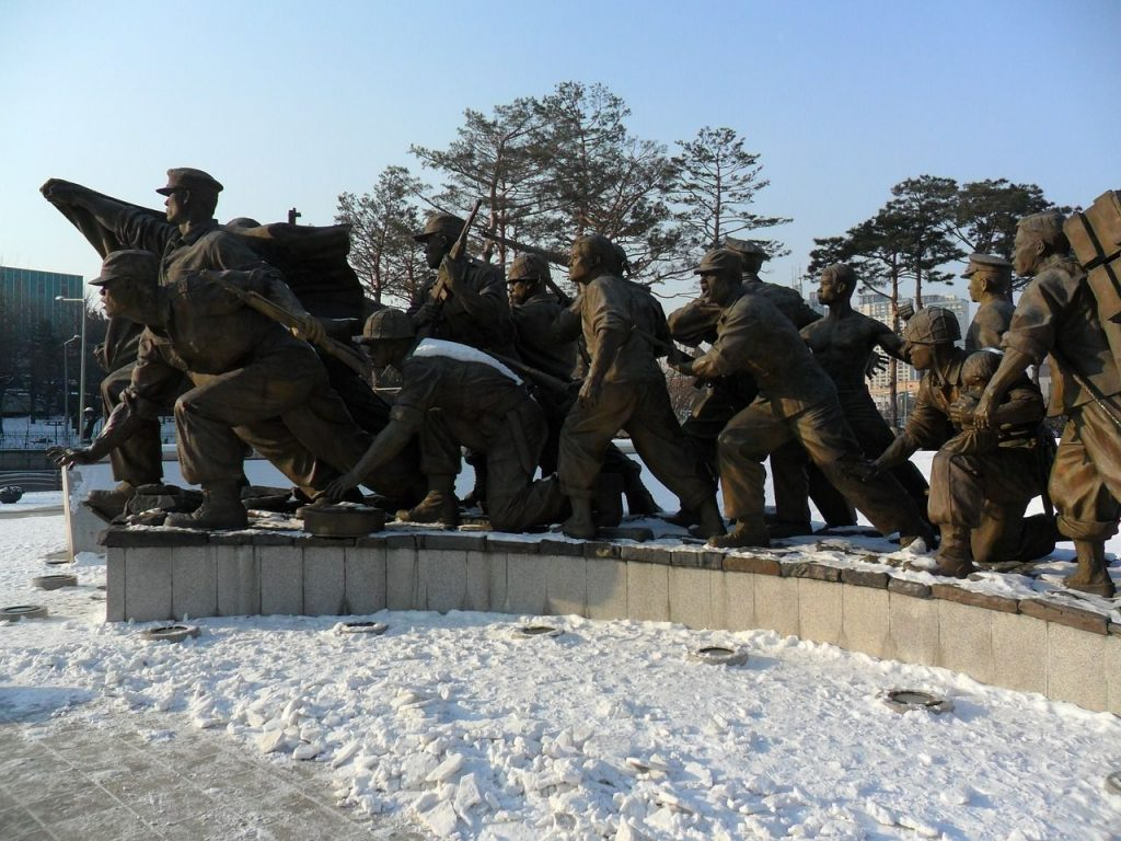 Le mémorial de la guerre de Corée