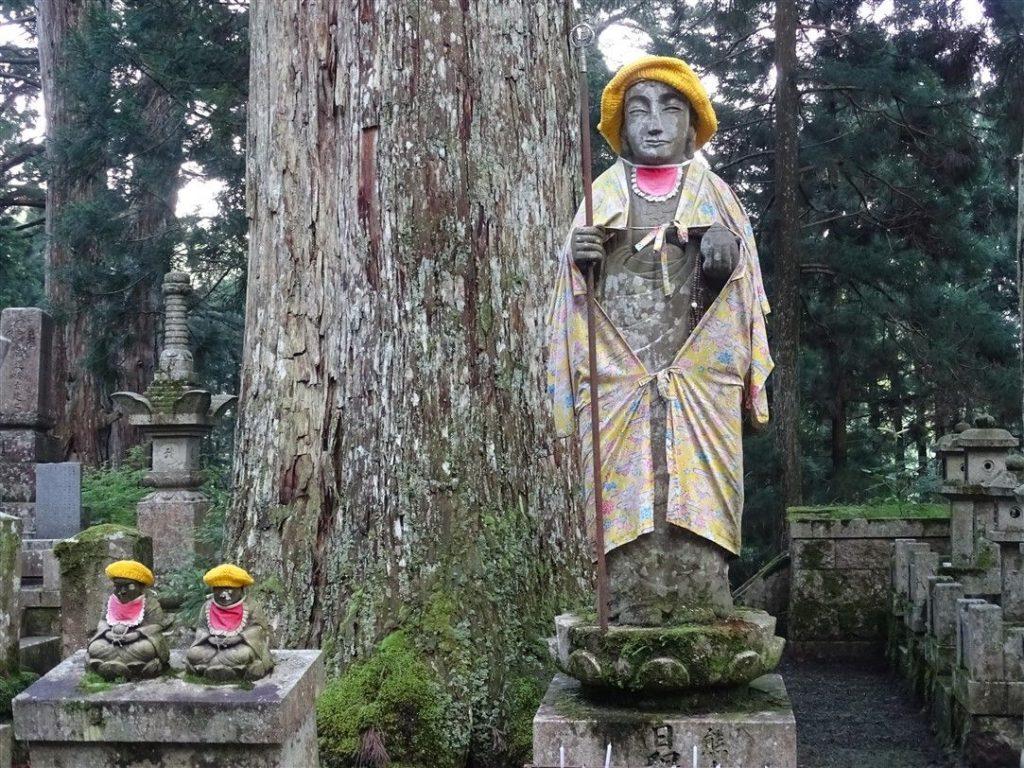 Le cimetière Okunoin