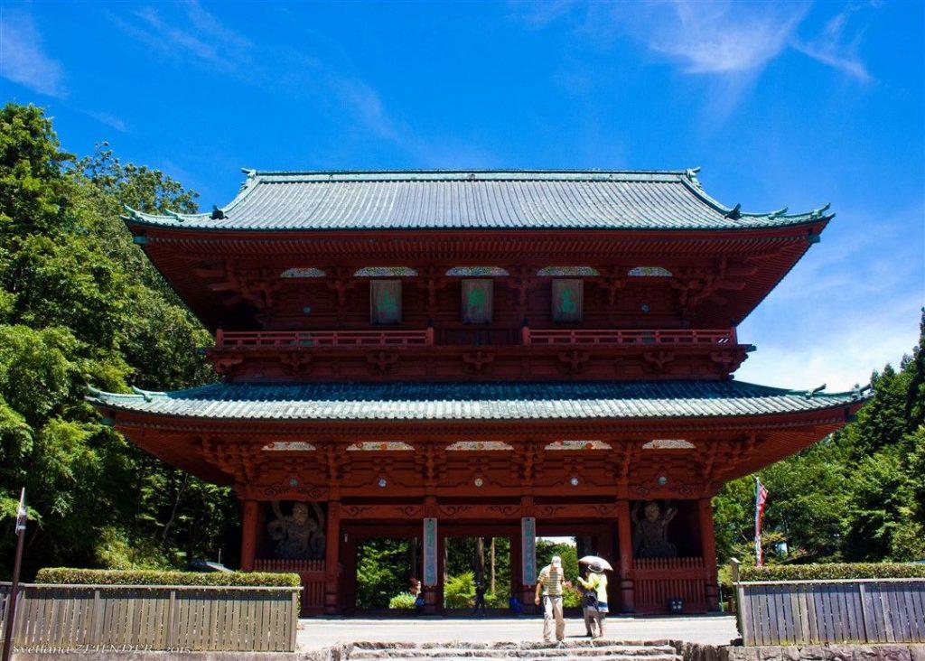 La porte Daimon de Koyasan