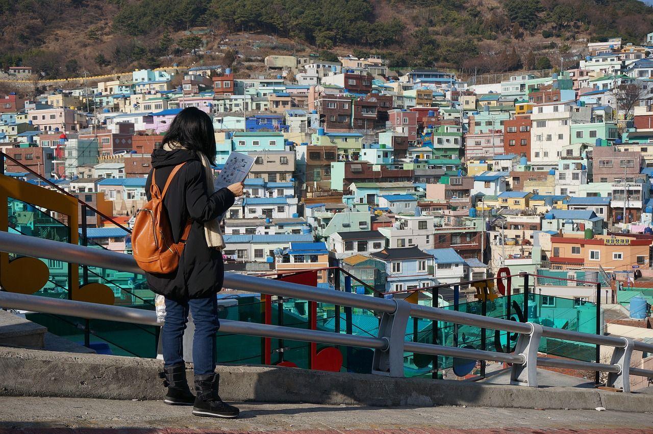 Le quartier de Anchang à Busan