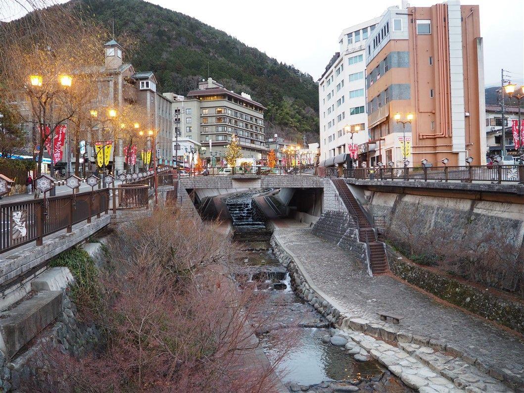 Gero Onsen, la ville thermale à l'eau de beauté