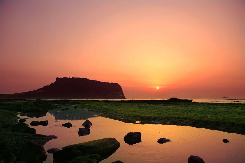 L'île de Jeju en Corée