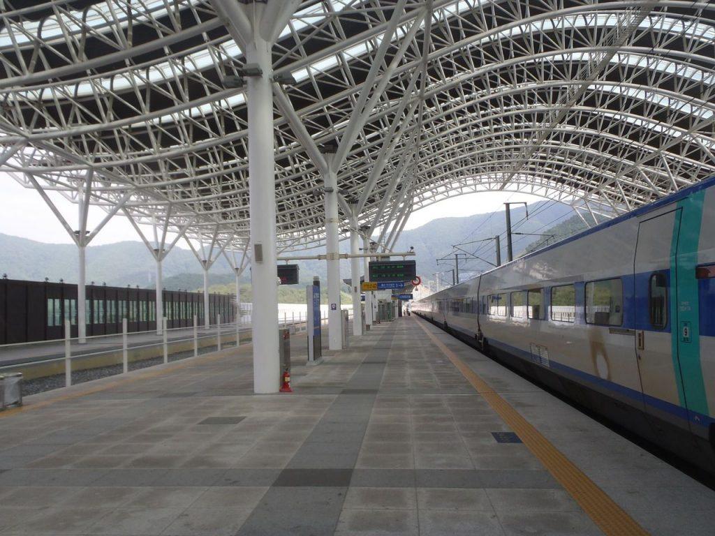 Le train KTX en Corée