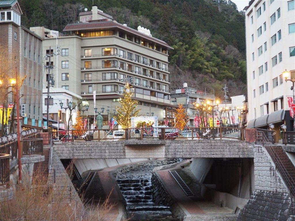 La station de Gero Onsen