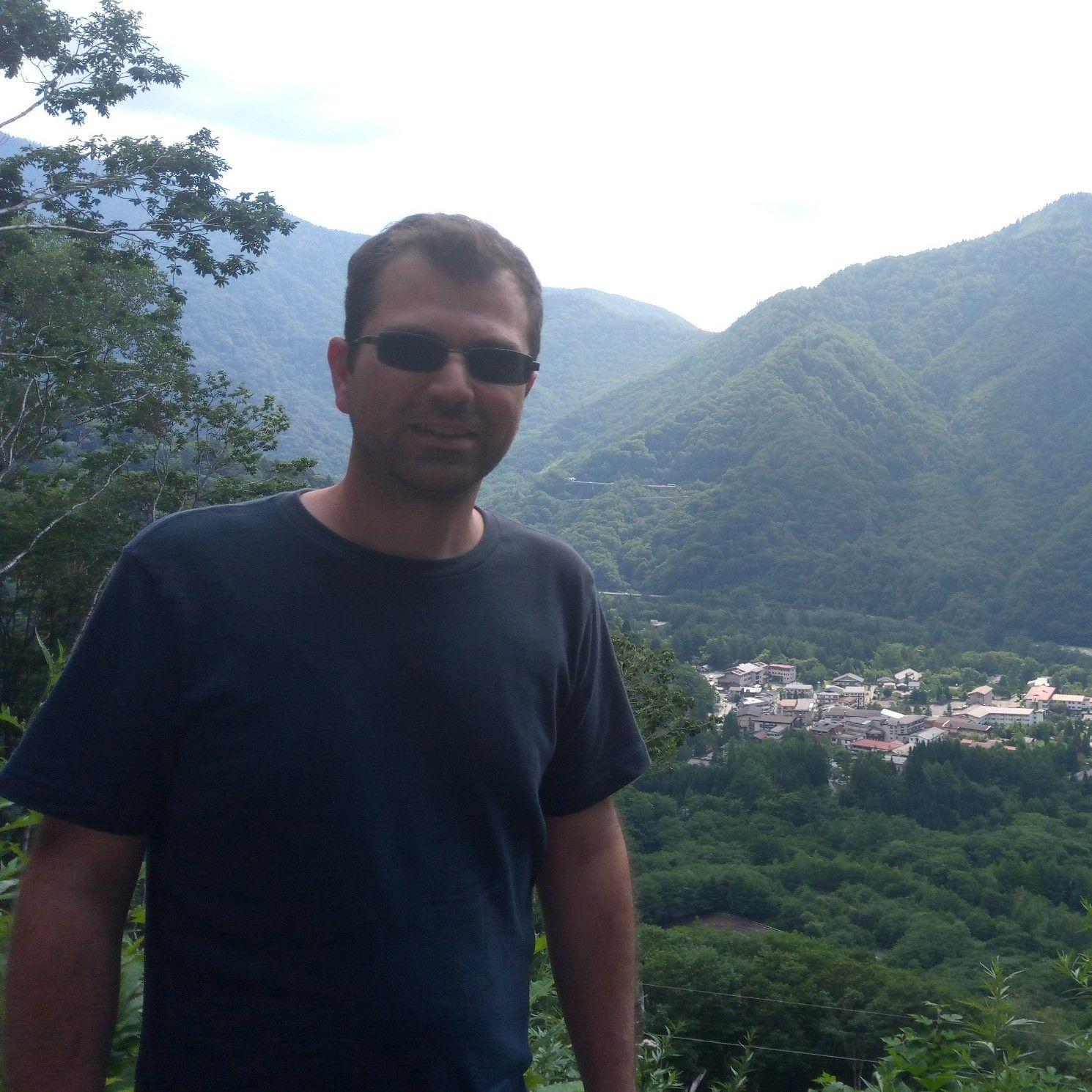 Sylvain guide à Nagano