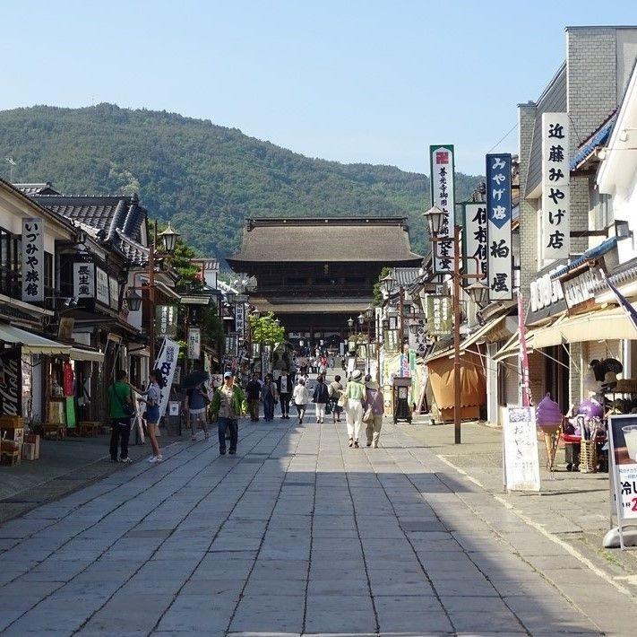 Le Zenko-Ji à Nagano