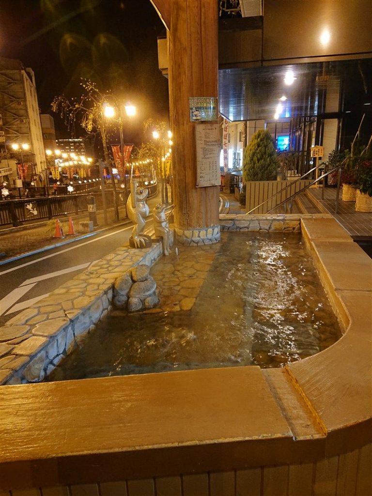 Un bain à Gero Onsen