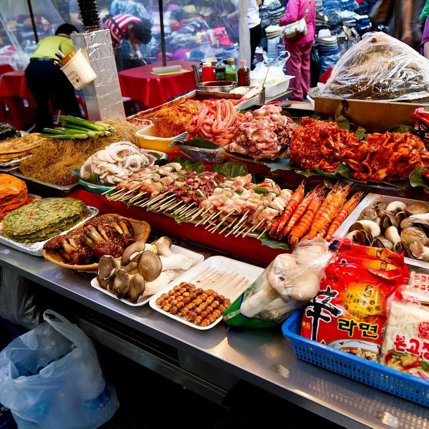 Découvrir le marché Gwangjang