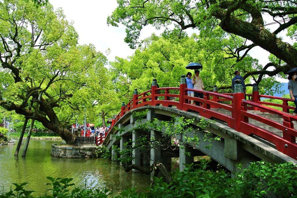 Le pont Dazaifu