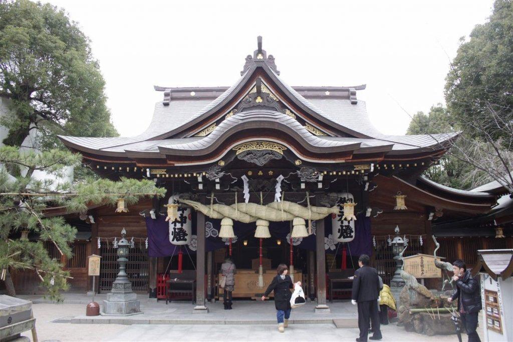 Le sanctuaire Kushida-Jinja