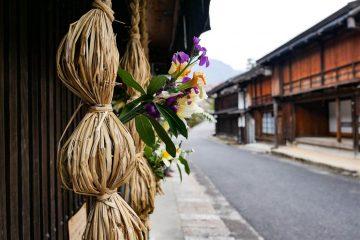 La nakasendo au Japon