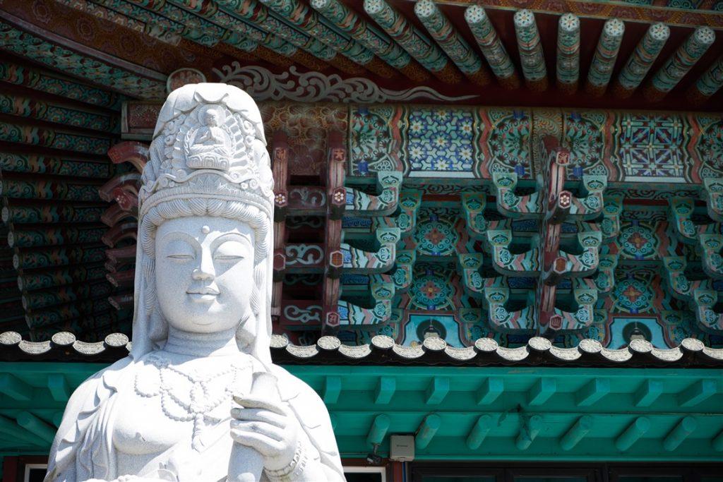 Les temples à Jeju