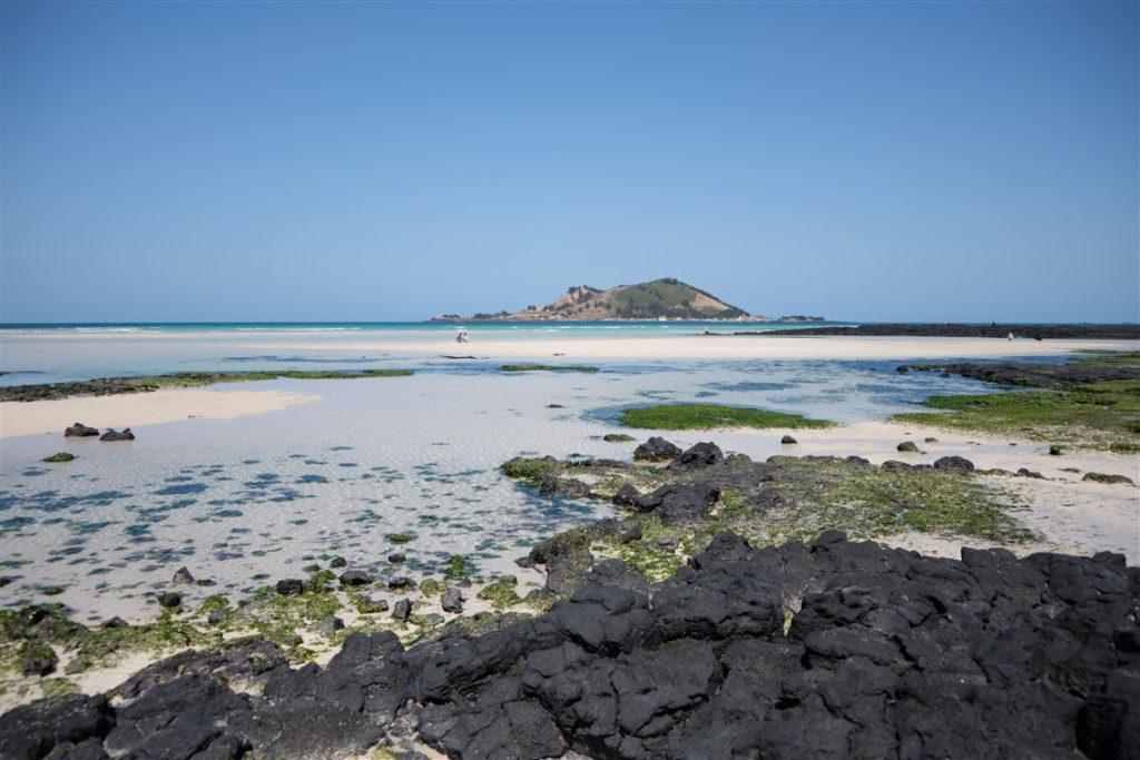 La geumneug beauch à Jeju