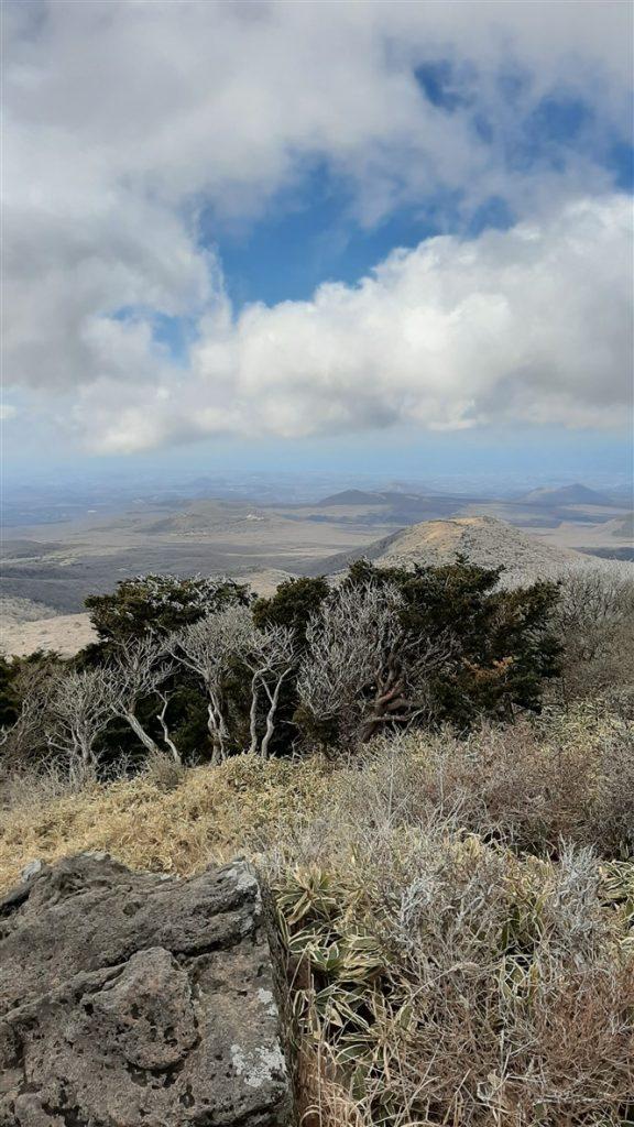 Le mont Hallasan à jeju