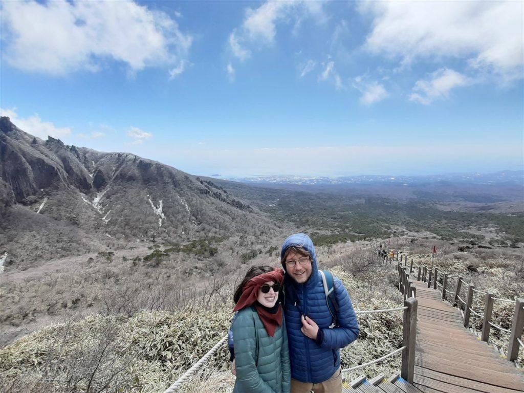 Le mont Hallasan
