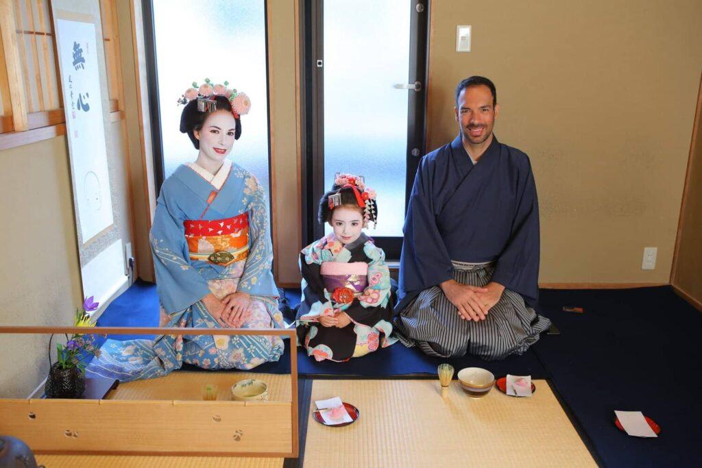 Une machiya à Kyoto