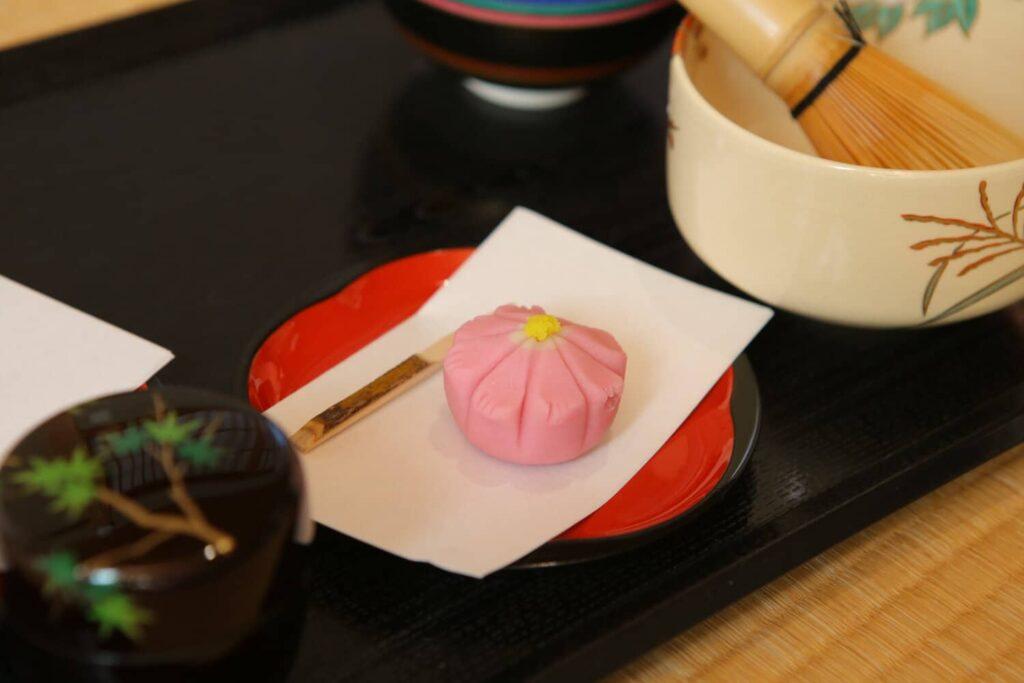 Un wagashi traditionnel