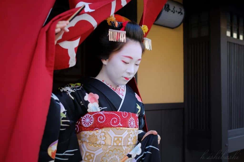 Une cérémonie avec Geisha à Kyoto