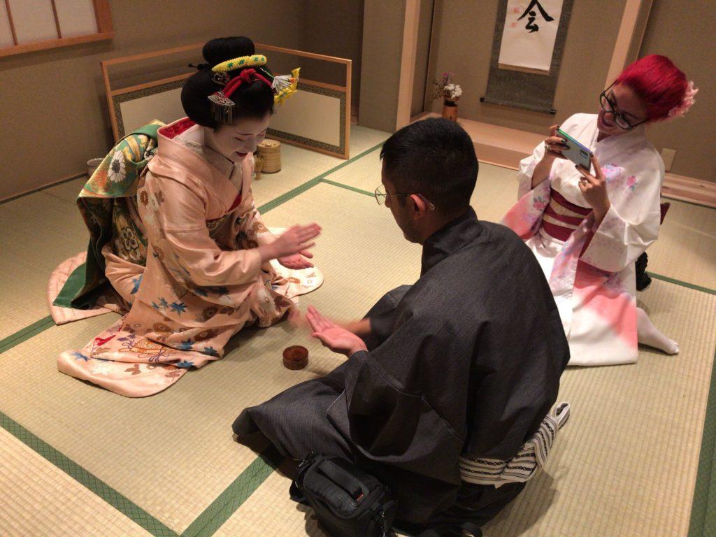 Rencontrer une Maiko à Kyoto