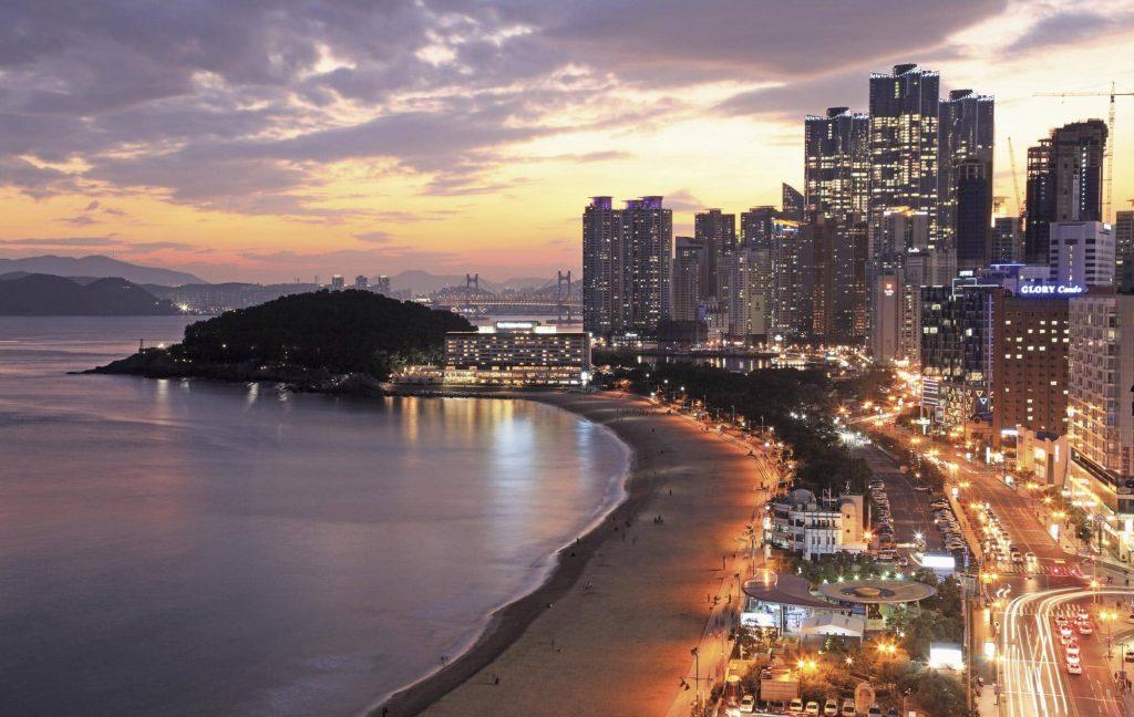 Busan en Corée du Sud