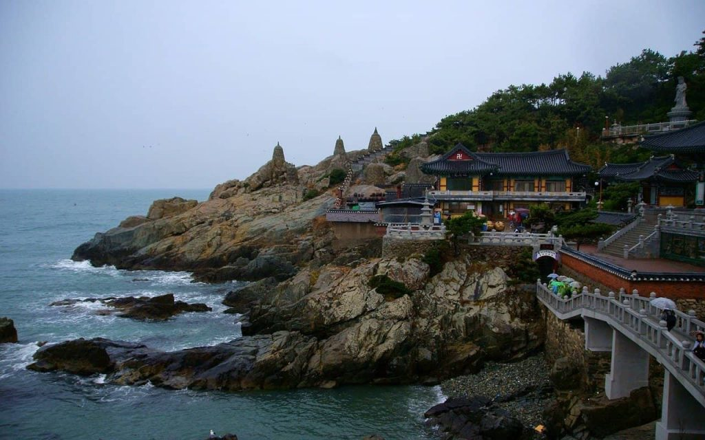 Le temple Haedong Yonggungsa