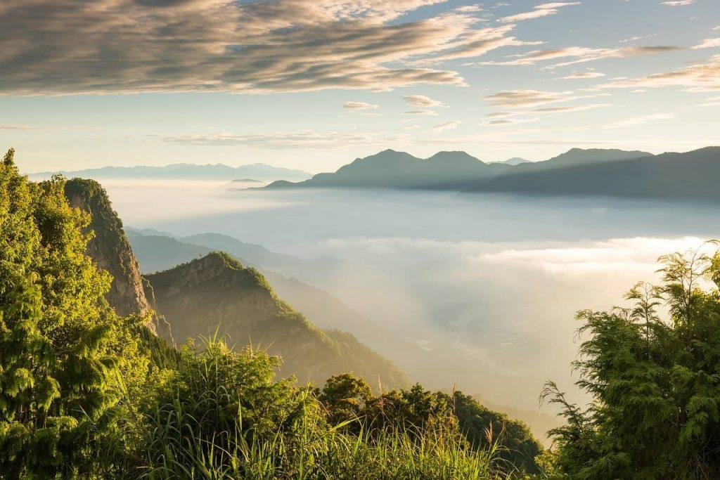La montagne Alishan