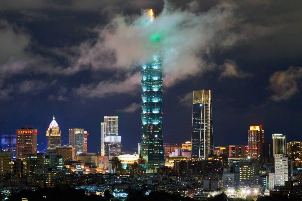 Taipei et sa tour 101