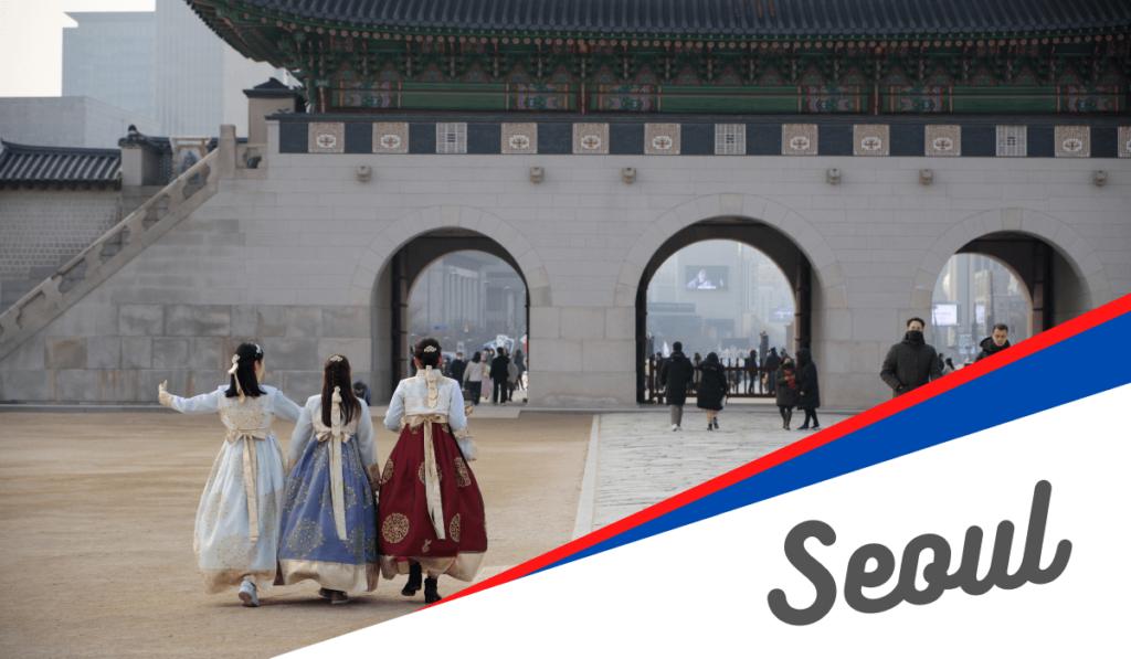 Gyeongbokgung à Séoul