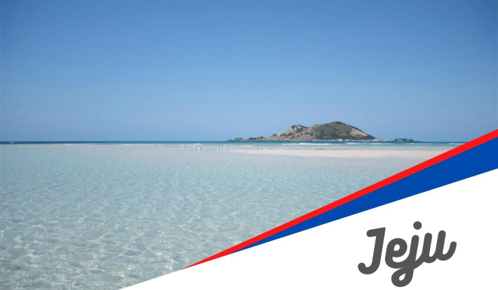 Les plages de Jeju
