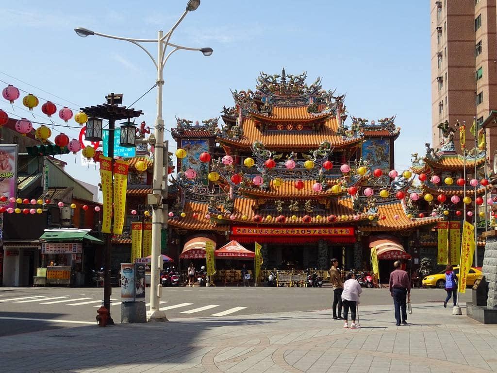 Un temple à Taipei