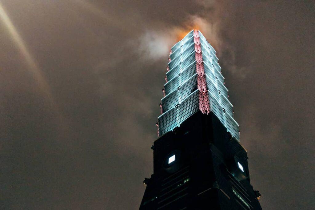 La tour Taipei 101